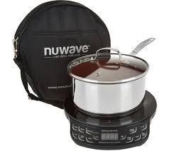 nuwave induction cooktop flex w 3qt saucepan lid u0026 case page 1