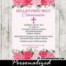 communion invitation catholic communion invitations archives cupcakemakeover