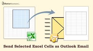 2 methods to quickly send selected cells in an excel worksheet as