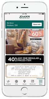 joanns coupon app jo stores launches mobile app for crafters