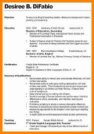 Resume Help For Teachers 5 Resume Examples For Teaching Doctors Signature
