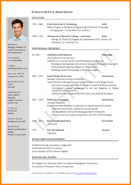 Resume Sample Jollibee Crew by 9 Cv Sample For Job Application Mail Clerked