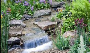 Water Rock Garden Alan Titchmarsh On Growing Rock Plants Garden Style