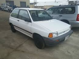 ford festiva l plus 2 door 1 3l blue 5 speed no reserve for sale