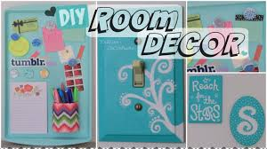 diy room decor wall art u0026 magnetic memo board how to youtube