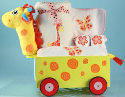 wagon baby giraffe wagon layette for baby girl giraffe gift wagon