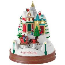 jingle all the way musical ornament with light and motion