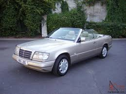convertible mercedes w124 e220 cabriolet convertible 1996 automatic gold full leather