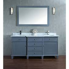 stufurhome cadence grey 60 inch sink bathroom vanity with