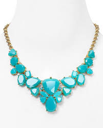 color necklace images Kate spade turquoise color pop necklace everything turquoise jpg