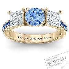 10 year anniversary ring anniversary rings jewlr