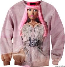 i d buy this nicki minaj sweater just for the irony of it my