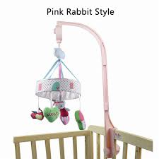 stand crib music box wind chimes rattles toys infant rotating