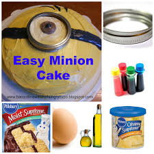 bacon time with the hungry hypo easy minion cake and minion nails