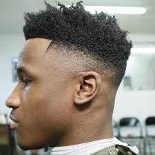 textured top faded sides 50 fade and tapered haircuts for black men part 4