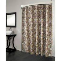 Shower Curtain Design Ideas Minimalist Black Washed Also White Washed Cotton Shower Curtain