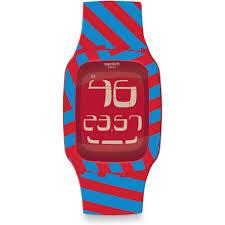 Quadri Country by Swatch Surr103 Digital Watch Quadri Code