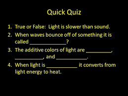 Is Light Energy Light A Dozen Facts About Light Light Fact 1 Light Is A Form Of