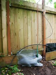 diy waterfall feature for backyard fence u2013 growing plants growing