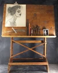 vintage wood drafting table we 3 this paint palette with the beautiful drawing love