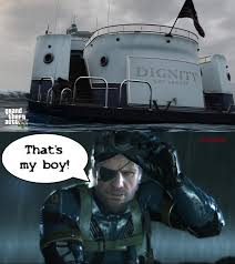 Yacht Meme - gta v sneaking on dignity yacht imgur