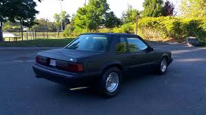 Black Fox Body Mustang Plasti Dipped Foxbody Turbo Mustang Youtube