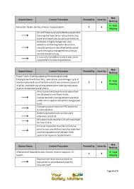 it assessment template risk assessment template media laywel