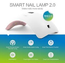 sunuv 48w sun8 smart 2 0 led uv nail lamp led nail light nail dryer