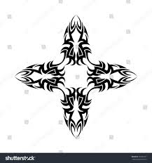 tribal scroll design stock vector illustration of illustration