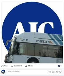 Meme Bus - you can now add a marta bus to your facebook profile picture