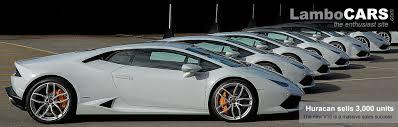 lamborghini all car lamborghini huracan sales reach 3000 units the on