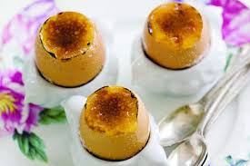 creme brulee easter eggs