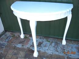 white half moon table white painted half moon table in south africa ads may clasf leisure