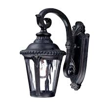 acclaim lighting laurens collection 1 light black coral outdoor