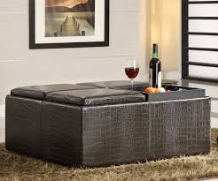 ottomans with storage in dazzling storage zab living together with