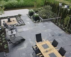 slate flagstone pavers stone paver patio designs laying a paver