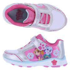light up shoes for girls paw patrol paw girls light up shoe payless