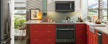 make a statement in the kitchen with ge slate appliances kitchen