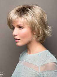 short cap like women s haircut short face flattering bob with feathered layers and wispy ends