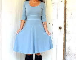 fiona v neck dress organic fabric made to order choose