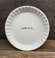 new rae dunn by magenta thankful for pie dish u2013 farmhouse fresh home