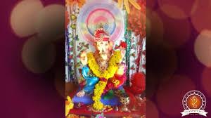Home Ganpati Decoration Janak Panchal Home Ganpati Decoration Video 2016 Www Ganpati Tv