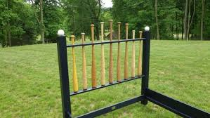 Baseball Bed Frame Crafted Baseball Bat Bed Frame By Reclaimed
