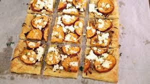 roasted yam tart recipe the chew abc