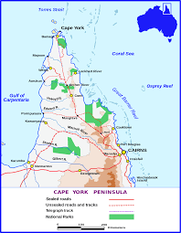 Pythons In Florida Map by Cape York Peninsula Wikipedia