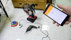 smartphone controlled outlet turn on off a physical power outlet that diy into remote