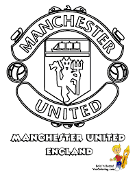 world fifa team coloring page manchester united of england you