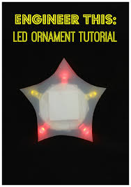 engineer this led ornaments planet smarty