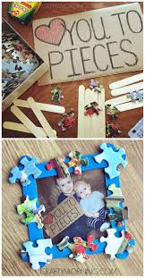love you to pieces father u0027s day frame gift craft gifts craft