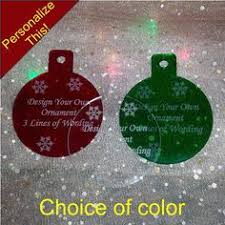 christmas ornaments assort name yr mini by finesselaserdesigns